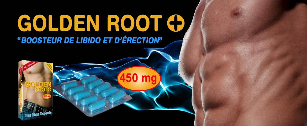 Golden Root stimulant pour homme
